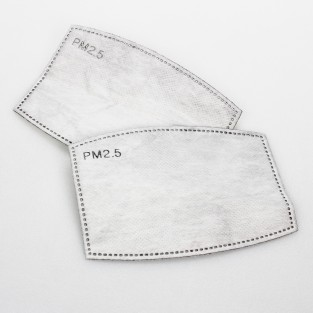 Washable Face Mask Filters x 2 pack