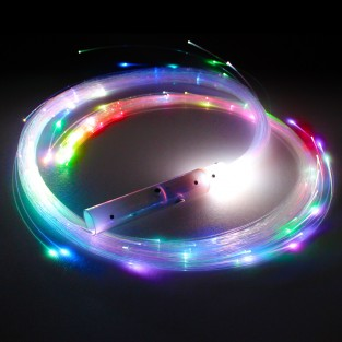 Juggle-Light Fibre Optic Whip