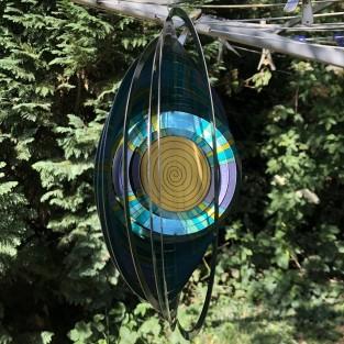 Mandala Swirl Wind Spinner