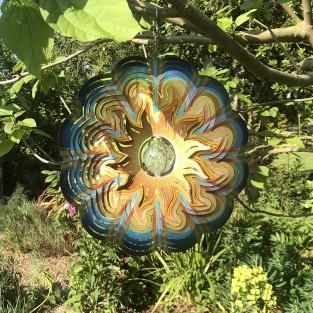 Sun Glow Ball Wind Spinner