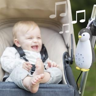 Zoe the Penguin Music Box & Night Light