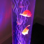 Sensory LED Bubble Fish Lamp 5