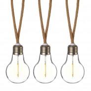 10 Bulb Jute Rope String Lights 2