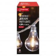10 Bulb Jute Rope String Lights 3