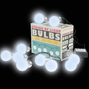 10 LED Battery Operated String of Light Bulbs 2