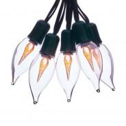 10 Clip on Flame String Lights 1