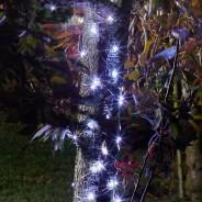 100 Solar Firefly String Lights 6 Cool White