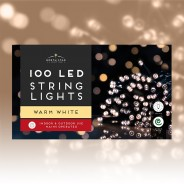 100 Led Mains Operated Lights 4