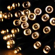 100 LED Warm White Solar Lights 1