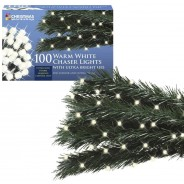 100 Warm White Chaser Lights 2