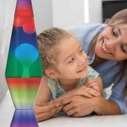 "14.5"" Colourmax Rainbow Lava Lamp 2"
