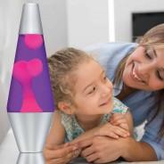 "14.5"" LAVA Brand Lava Lamp Pink/Purple 2"