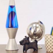 "14.5"" Lava Lamp Purple/Blue 1"