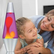 "14.5"" Lava Lamp Yellow/Purple 2"