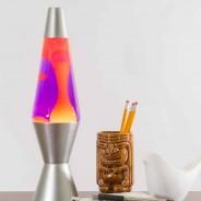 "14.5"" Lava Lamp Yellow/Purple 1"
