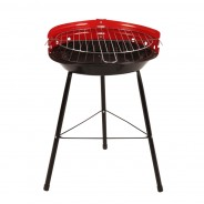 """14"""" Steel BBQ Barbeque  3"""