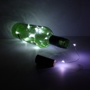15 LED Cork String Lights 1 Bottle NOT included
