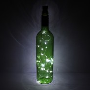 15 LED Cork String Lights 2 Bottle NOT included