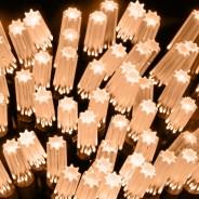 15m Star Cap Fairy Lights Warm White 2