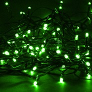 Solar String Lights 160 LED by Gloworm  3 Green