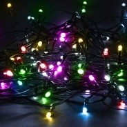 Solar String Lights 160 LED by Gloworm  2 Multicoloured