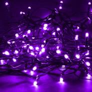Solar String Lights 160 LED by Gloworm  6 Purple