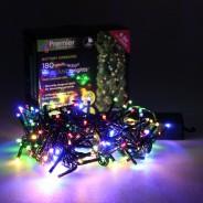 180 LED Garland Light B/O 3