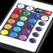 1M Colour Change Tube Lamp Remote Controlled 9