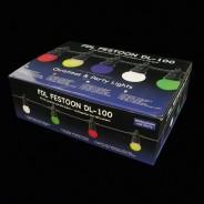 Multi Coloured Connectable Festoon Lights 4