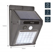 20 LED Solar Security Light with Motion Sensor 4