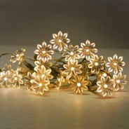 20 LED Sunflowers Warm White (16541) 1