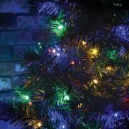 200 Multi Coloured Timer Fairy Lights 5