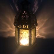 20cm Indian Arts Moroccan Lantern 2