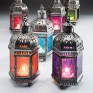 20cm Indian Arts Moroccan Lantern 1