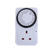 24 Hour Plug-In Timer Socket 1