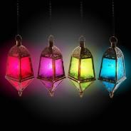 29cm Moroccan Hanging Lantern 1