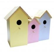 3 in 1 Pastel Bird Nesting Box 2