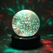 "3"" Light Up Glitter Ball 5"