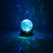 "3"" Light Up Glitter Ball 7"
