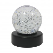 "3"" Light Up Glitter Ball 8"