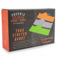 Yoga Stretch Resistance Bands (3 pack) 6