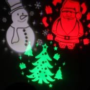 3 Piece Outdoor LED Xmas Projector 2