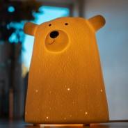 3D Ceramic Bear Lamp 1