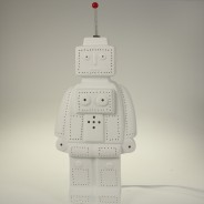 3D Ceramic Lamp Robot 2