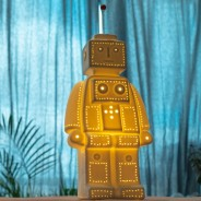 3D Ceramic Lamp Robot 1