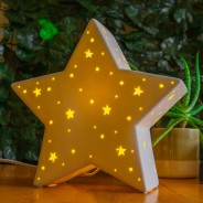 3D Ceramic Lamp Star 1