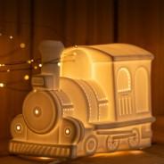 3D Ceramic Lamp Train 1