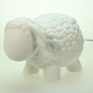3D Ceramic Lamp Sheep 2