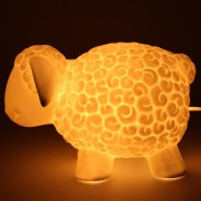 3D Ceramic Lamp Sheep 5