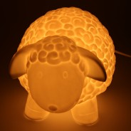 3D Ceramic Lamp Sheep 3